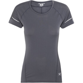 Arc'teryx Motus T-Shirt Women Black Sapphire